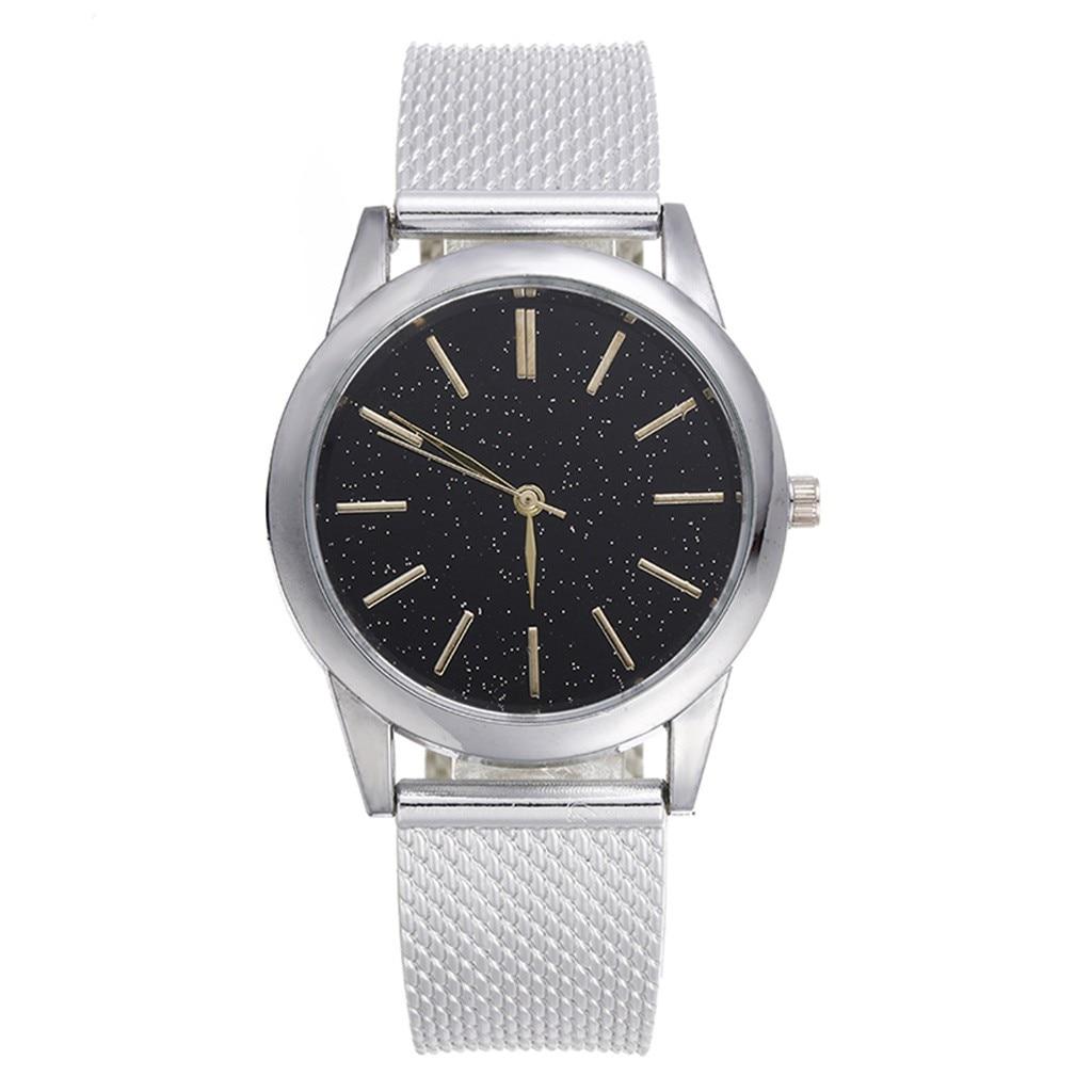 2020 New Men's Quartz Watch Luxury Starry Sky Scale Dial Wrist Watch Top Rose Gold Men's Analog Clock Watch Relogio Feminino 3
