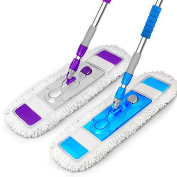 Środki do czyszczenia podłóg płaski Mop s podłogi z drewna płaski Mop gospodarstwa domowego-360 stopni Spin pralnia magia obracanie Mop płaski Mop narzędzie do czyszczenia tanie i dobre opinie CN (pochodzenie) Mikrofibra 10 sekund Do przenoszenia Plastikowe wiadro Z 1 głowicą do mopa 15 minut 70 -80 300 ml