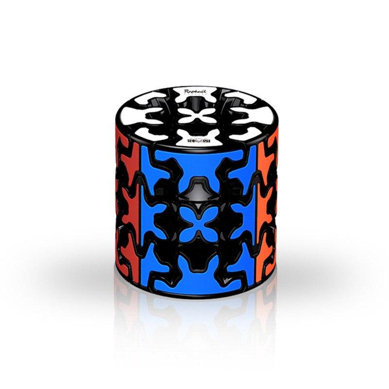 Qiyi 3x3x3 engrenagem cubo mágico profissão suave
