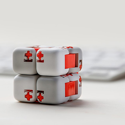 Original xiaomi mitu Cubes Spinner Finger Bricks Intelligence Toys Smart Fidget Magic Cubes Infinity Toys Anti Stress Anxiety Karachi