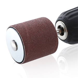 Image 3 - Drum Sander Dremel Kit Sanding Belt Grit 80 120 Sandpaper Long Short with Spindle Case for Drill Press Rotary Tools