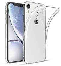 Thin Clear Silicone Phone Case For iPhone 11 Pro Max Cases for iphone XR XS Max X 7 8 6 6S Plus Soft TPU Transparent Back Cover luxury clear phone case for iphone 11 pro max x xr xs max 8 7 6s 6 plus case soft silicon transparent back tpu full cover cases