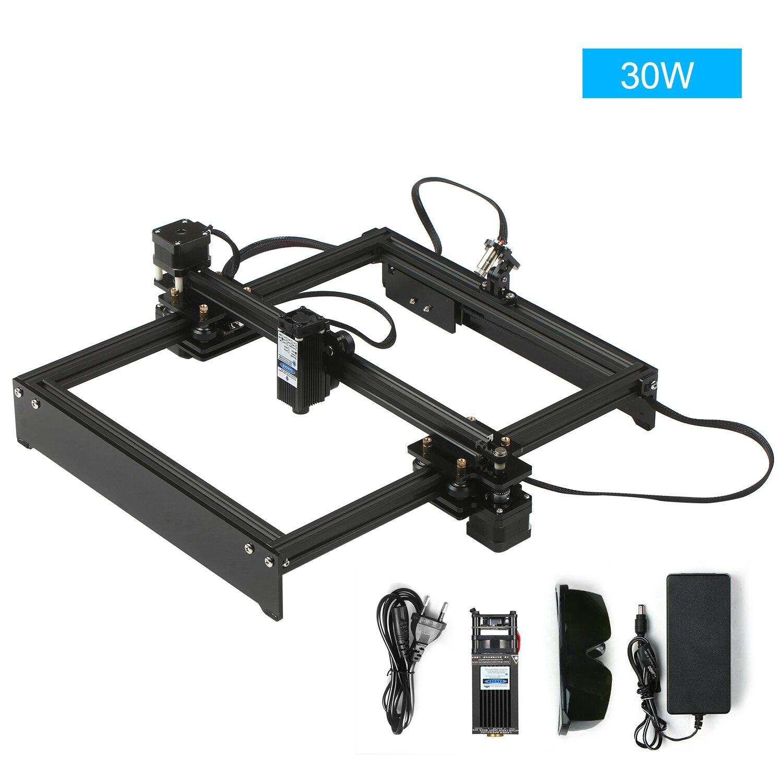 Machine à graver en Laser CNC routeur, 30W, avec contrôle hors ligne, bricolage de bureau, graveur et imprimante de marques de Logo