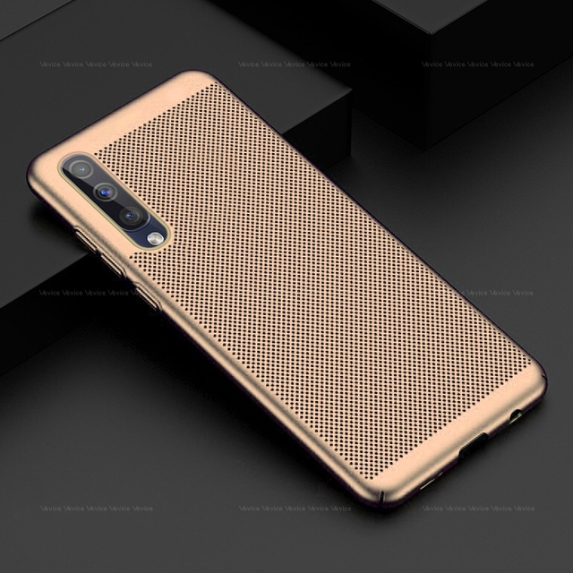Slim Case For Samsung Galaxy S10 S9 S8 Plus S10e Note 9 8 A20 A40 A50 A70 M30 J4 J6 A6 A8 Plus A7 2018 Heat Dissipation PC Cover