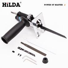 HILDA scie alternative outil électrique scie alternative métal coupe bois outil de coupe perceuse électrique accessoire avec lames