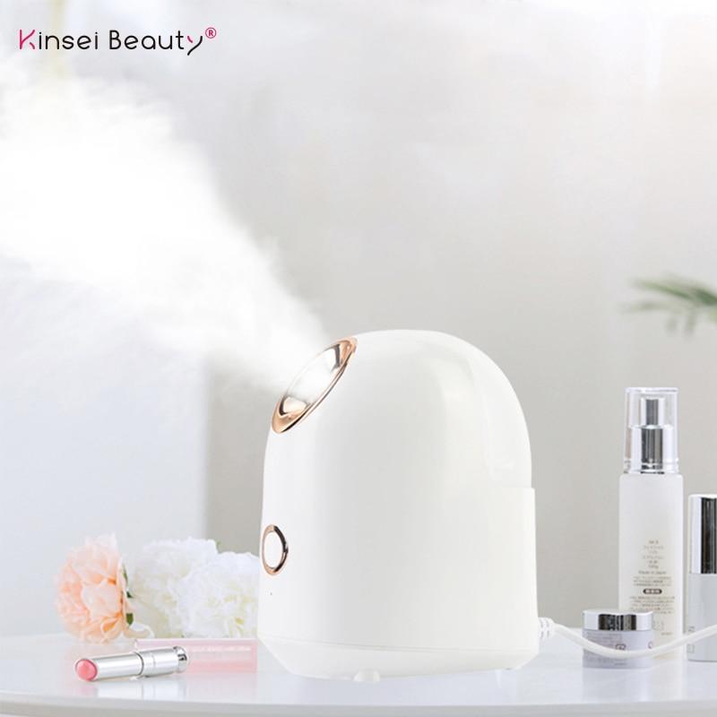 Facial Steamer Nano Ionic Face Steamer For Woman Home Use Facial Sauna Spa Moisturizing Cleansing Pores Blackheads Acne
