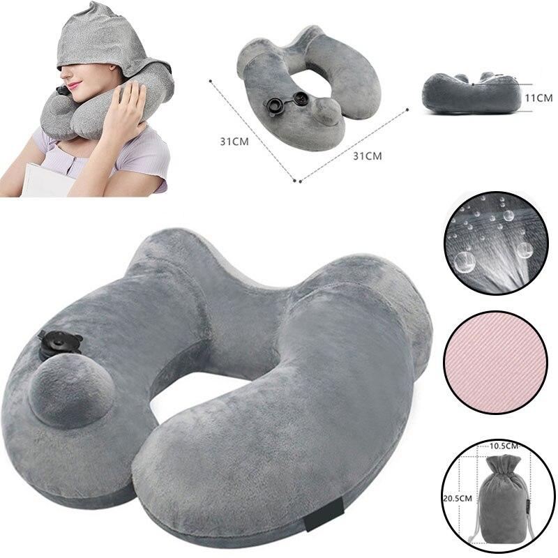 Купить мягкая подушка для шеи с u образным вырезом
