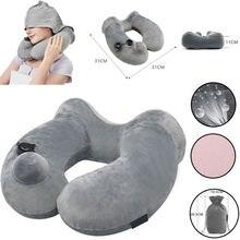 Мягкая подушка для шеи с u образным вырезом