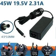 Тонкое Зарядное устройство переменного тока 45 Вт 19,5 в 7437 а для Inspiron 14 (9333) XPS 11 XPS 12 XPS 12 MLK XPS 13 XPS 13 () XPS 13 Classic HA45NM140