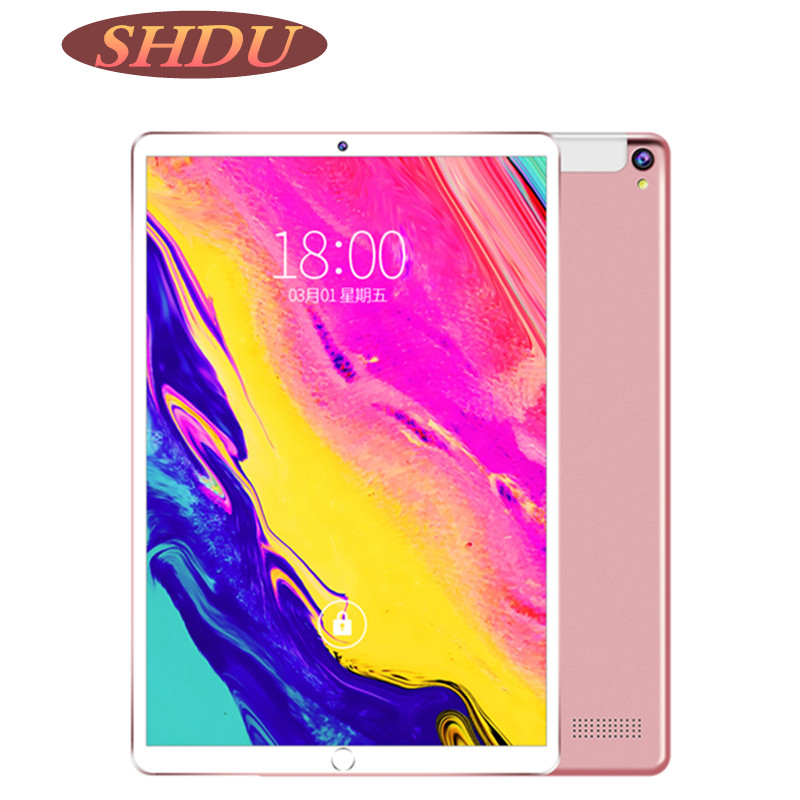 Tablet 10.1 Inch 3G Phone Dual SIM Tablets Pc Android 7.0 Google Play 4/Quad Core 2GB/32GB IPS Tablet 7 8 9 10 Metal Tablet Pc image