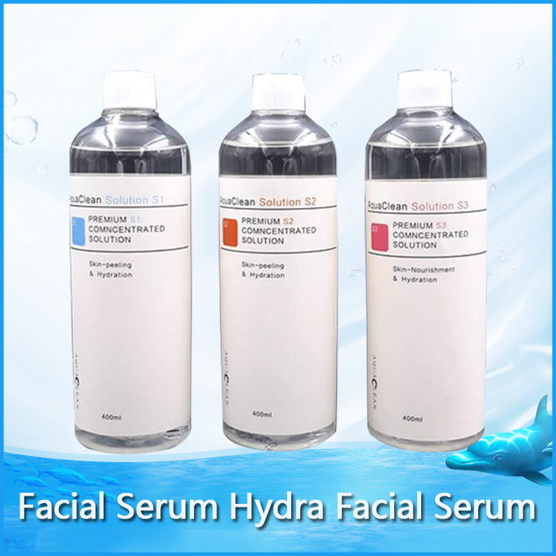 2020 Aqua Facial Serum Hydra Facial Serum For Normal Skin Aqua Peeling Solution 400ml / Bottle AS1+SA2+AO3  DHL Shipping