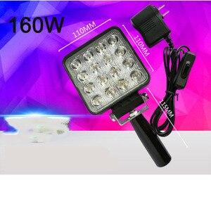 Image 5 - vusum 120W 160W wavelength 365nm 395nm 405nm handheld portable UV LED curing light mobile phone screen repair lamp ink curing