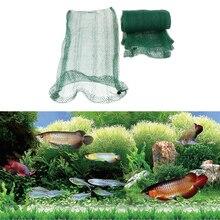 5 шт. нейлоновая сетка для аквариума, пруд, фильтр для аквариума, сетчатый мешок 58x30 см, зеленый
