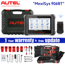 Autel Maxisys MS906BT PRO Professional Diagnostic Tool, ECU Coding Super Tablet Scanner Automotive OBD2 Scanner Car OBD Tool