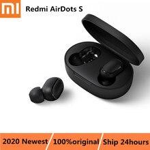 Original Xiaomi Redmi AirDots S Earphone TWS Bluetooth Wireless Headset Left Right Low Lag Mode Ster