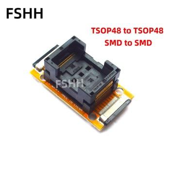 5pcs lot k9gag08u0e k9gag08u0e scb0 k9gag08uoe scbo k9gag08uoe tsop48 k9gag08u0e scbo k9gag08uoe scb0 original chip good quality TSOP48 to TSOP48 test socket SMD-SMD On line test socket nand flash chip TSOP48 0.5mm