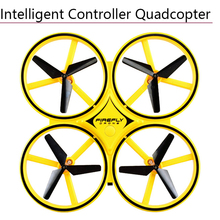 Mini Infrared Induction Hand Control Drone Anti-collision LED Gravity Sensing Fi