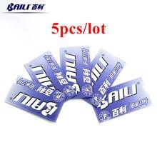 Baili 5 шт/лот ультратонкие супер острые прочные нержавеющие