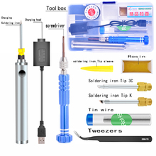 ebakey5V 8 W Soldering Iron Wireless Charging Soldering Iron Mini portable Battery Soldering Iron with USB Welding Tools