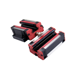 Image 5 - xy table 2 HGH15 HGR15 linear guide rail 15mm guideways rod set +4 pc slide bearing block  HGH15CA  /flang HGW15CC for CNC parts