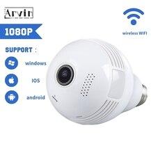 360 Bulb Lamp Camera LED Light 960P Wireless Camera Wifi Home Surveillance Camera IP CCTV Camaras De Seguridad Kamera Cam IP5080