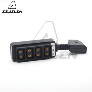 Image 2 - Man D Tap P Tap Naar 4 D Tap Vrouwelijke Hub Adapter