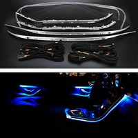 For Mercedes Benz C class w205 X253 car ambient lamp for w205 X253 64 colors LED ambient light illuminated lamp car accessory
