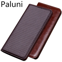 Genuine Leather Retro Vintage Magnetic Phone Bag Cover For Huawei Nova 3/Huawei Nova 3i/Huawei Nova 3e Holster Cover Coque Case