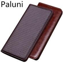 جلد طبيعي الرجعية Vintage غطاء حقيبة الهاتف المغناطيسي ل OnePlus 7T برو/OnePlus 7 T/OnePlus 7 برو/OnePlus 7 الحافظة غطاء Funda