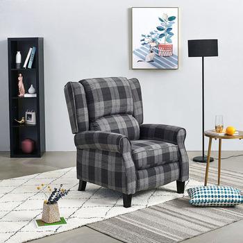 Nordic szezlong materiałowy fotel Sofa salon meble Siesta łóżko krzesło szybka dostawa tanie i dobre opinie Meble do salonu Meble do domu