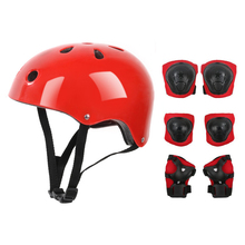 Helmet Skateboard Roller Safety-Pads-Set Protective-Gear Scooter Sports Kids And Outdoor