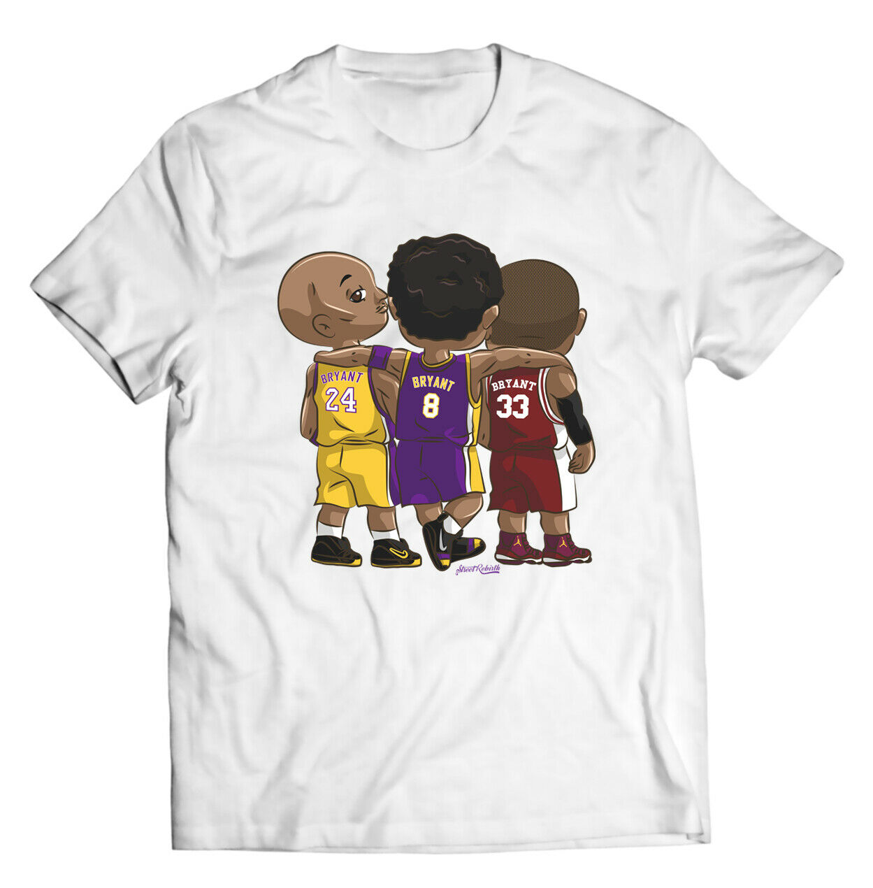Rip GOAT!! Kobe Bryant T-Shirt - Cool Funny La Lakers Basketball Gift For Her Him