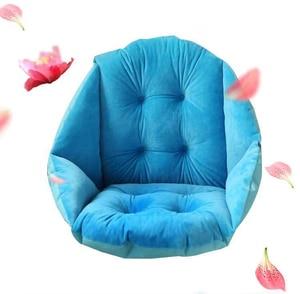 Image 4 - Suporte lombar quente grosso do coxim da cadeira de lanke para trás, almofada de assento multiuso para o escritório em casa