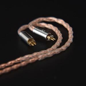 Image 5 - Nicehck 6n upocc cobre + cobre prata liga mista cabo litz 3.5/2.5/4.4 mmcx/0.78mm 2pin/dqc 2pin para mk3 moondrop qdc tanchjim
