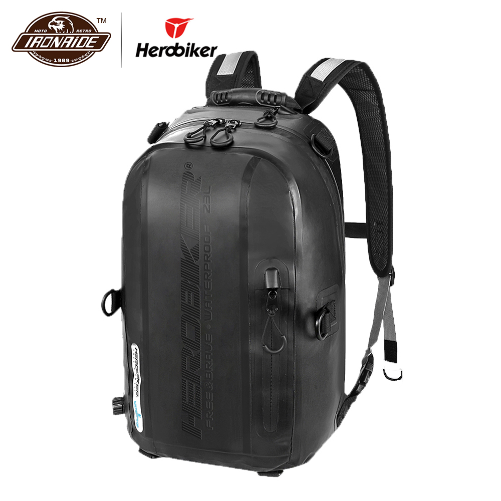 HEROBIKER, мотоциклетная сумка, водонепроницаемый мотоциклетный рюкзак, мотоциклетный шлем, рюкзак для багажа, мотоциклетная сумка, сумка для м...