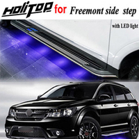 NEW arrival LED light nerf bar running board side step for Fiat Freemont quality is real strong please come if need quality|bar bar|board board|side step running boards -
