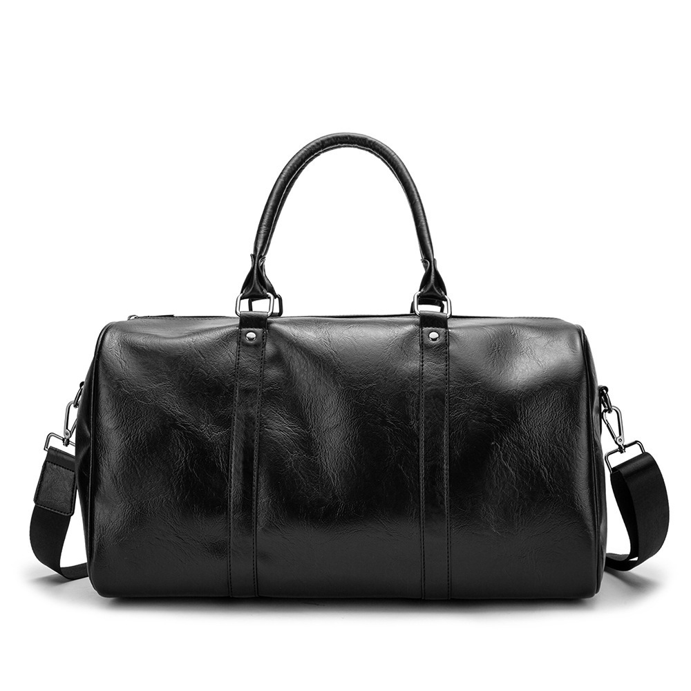 Fashion Travel Bag Luggage Bag Large Capacity for Short Trips Soft Leather Portable Business Casual Men's Bag Business Trip Bag