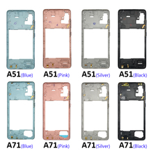 Replacement-Parts Middle-Frame-Case Samsung Galaxy Housing for A51-A71 with Side-Key-Buttons