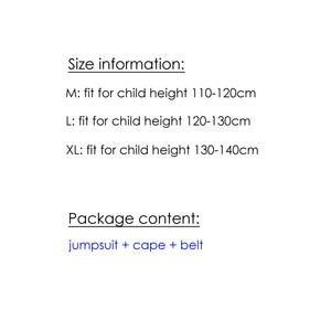 Image 5 - 子供キッズ男の子スーパーヒーロースーパーマンスーパーマン衣装コスプレハロウィンpurimパーティーカーニバルドレスアップB 0023