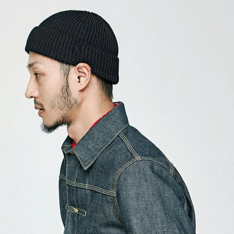 Inverno unisex malha gorro chapéu casual beanies waffle toque woolie headwear chapéu queda moda sólida boné docker