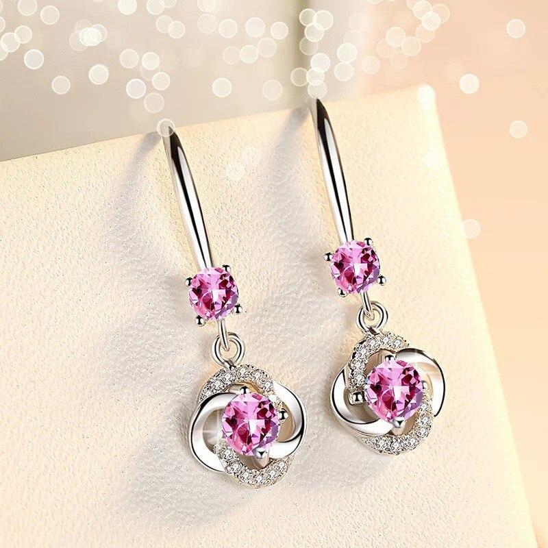 Silver Zirconia Earrings 6