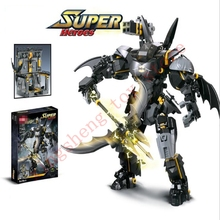 7143 Super Hero Series Batman Mech Cool Set Fighting Building Block Compatible with Legoingly Children's Educational Toys Gifts