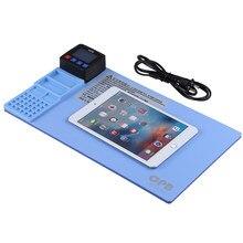 Séparateur d'écran LCD AC100-240V, pour iPhone iPad tablette Smartphone séparateur d'écran LCD Machine tapis chauffant téléphone outils de réparation
