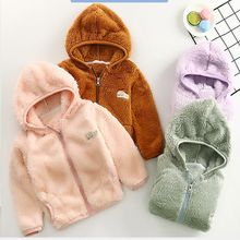 CYSINCOS 2019 Autumn Winter Warm Jackets  Girls Coats Boys Baby Kids Hooded Outerwear Coat Children Clothes