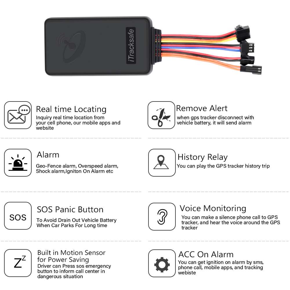 3G GPS tracker Car tracking device vehicle motorbike motorcycle auto bike WCDMA GSM GPRS SMS apps website locating monitoring