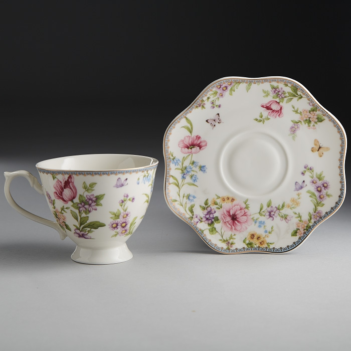 Set tea Rosario Camellia Ф2-027Р/6 to 6 персон, 12 pieces airbag rosario