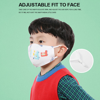 Breathable children kids mouth fac