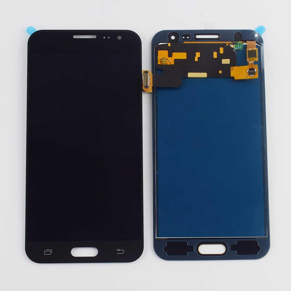 لسامسونج غالاكسي J3 2016 شاشة الكريستال السائل J320 J320A J320F LCD J320M J320H J320ZN LCD شاشة مجموعة المحولات الرقمية لشاشة تعمل بلمس إطار