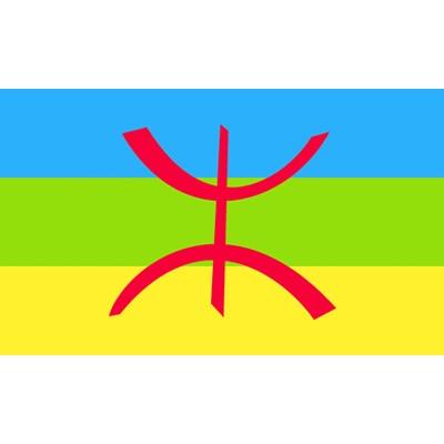 90x150 см берберский Флаг Северной Африки для украшения