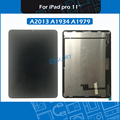 New A1934 A1979 A2013 LCD Screen Assembly For iPad Pro 11 2018 Touch Screen Digitizer Assembly Replacement Black